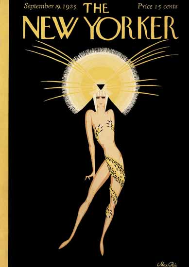 Roaring 1920s Max Ree The New Yorker 1925_09_19 Copyright | Roaring 1920s Ad Art and Magazine Cover Art