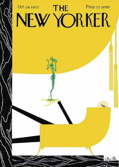 Roaring 1920s Max Ree The New Yorker 1925_10_24 Copyright | Roaring 1920s Ad Art and Magazine Cover Art