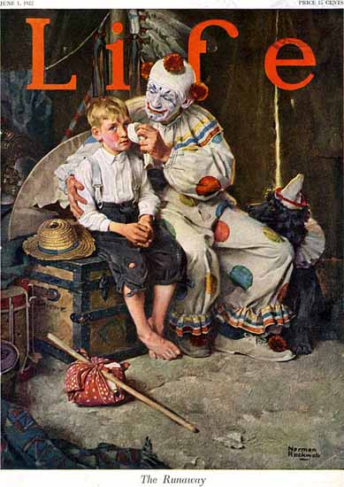 Roaring 1920s Norman Rockwell Life Magazine 1922-06-01 Copyright | Roaring 1920s Ad Art and Magazine Cover Art