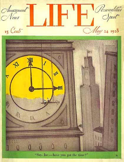 Roaring 1920s Paul Webb Life Humor Magazine 1928-05-24 Copyright | Roaring 1920s Ad Art and Magazine Cover Art