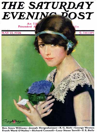 Roaring 1920s Penrhyn Stanlaws Saturday Evening Post 1926_05_22 | Roaring 1920s Ad Art and Magazine Cover Art