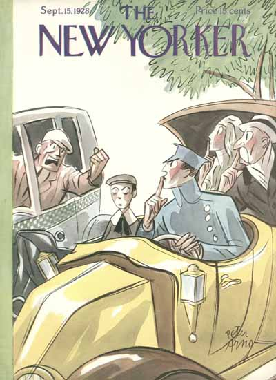 Roaring 1920s Peter Arno The New Yorker 1928_09_15 Copyright | Roaring 1920s Ad Art and Magazine Cover Art