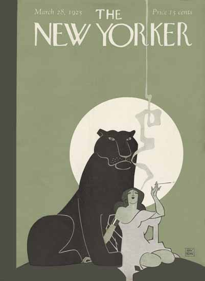 Roaring 1920s Ray Rohn The New Yorker 1925_03_28 Copyright | Roaring 1920s Ad Art and Magazine Cover Art