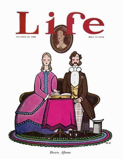 Roaring 1920s Rea Irvin Life Humor Magazine 1923-11-29 Copyright | Roaring 1920s Ad Art and Magazine Cover Art
