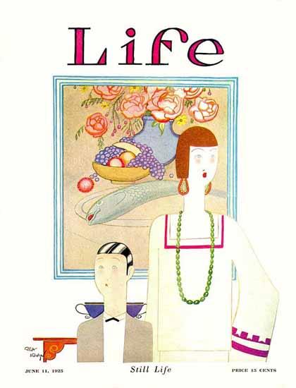 Roaring 1920s Rea Irvin Life Humor Magazine 1925-06-11 Copyright | Roaring 1920s Ad Art and Magazine Cover Art