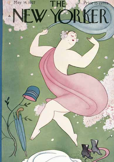 Roaring 1920s Rea Irvin The New Yorker 1927_05_14 Copyright | Roaring 1920s Ad Art and Magazine Cover Art