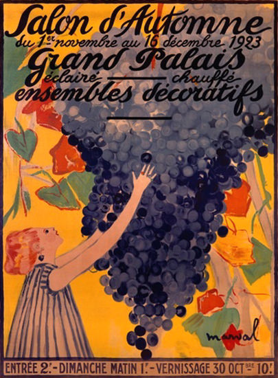 Roaring 1920s Salon D Automne 1923 Grand Palais Ensembles | Roaring 1920s Ad Art and Magazine Cover Art
