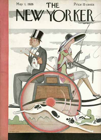 Roaring 1920s The New Yorker Magazine Cover 1926_05_01 Copyright | Roaring 1920s Ad Art and Magazine Cover Art