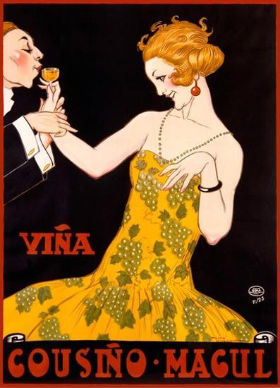 Roaring 1920s Vina Cousino Magul Rene Vincent 1925   Roaring 1920s Ad Art and Magazine Cover Art