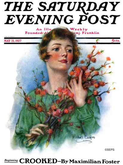Roaring 1920s WH Coffin Artist Saturday Evening Post 1927_05_21 | Roaring 1920s Ad Art and Magazine Cover Art