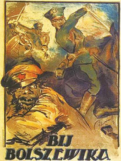 Roaring Twenties 1920s Bij Bolszewika 1920   Roaring 1920s Ad Art and Magazine Cover Art
