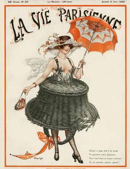 Roaring Twenties 1920s La Vie Parisienne 1920 Juin 5 | Roaring 1920s Ad Art and Magazine Cover Art