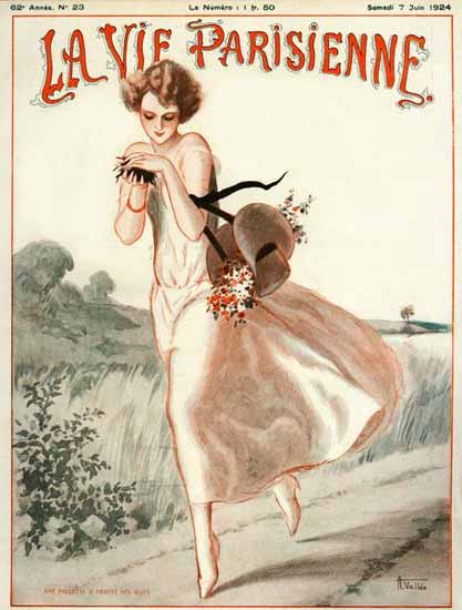 Roaring Twenties 1920s La Vie Parisienne 1924 Juni 7 | Roaring 1920s Ad Art and Magazine Cover Art