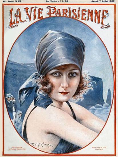 Roaring Twenties 1920s La vie Parisienne 1923 Juillet 7   Roaring 1920s Ad Art and Magazine Cover Art