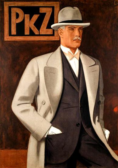 Roaring Twenties 1920s PKZ Switzerland 1927 Fashion   Roaring 1920s Ad Art and Magazine Cover Art