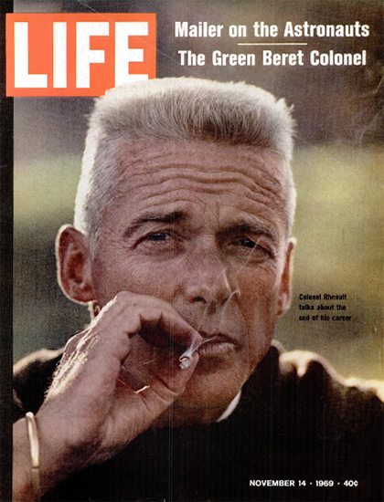 Robert B Rheault US Special Forces 14 Nov 1969 Copyright Life Magazine | Life Magazine Color Photo Covers 1937-1970