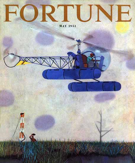 Robert Gwathmey Fortune Magazine May 1951 Copyright | Fortune Magazine Graphic Art Covers 1930-1959