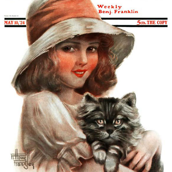 Robert H Ransley Saturday Evening Post 1924_05_10 Copyright crop | Best of 1920s Ad and Cover Art