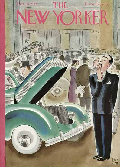 Robert James Day The New Yorker 1937_10_30 Copyright   The New Yorker Graphic Art Covers 1925-1945