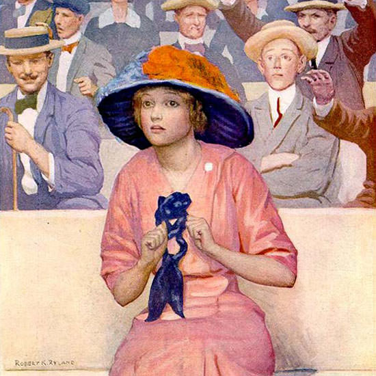 Robert K Ryland Life Magazine Jack in the Box 1913-09-04 Copyright crop | Best of 1891-1919 Ad and Cover Art