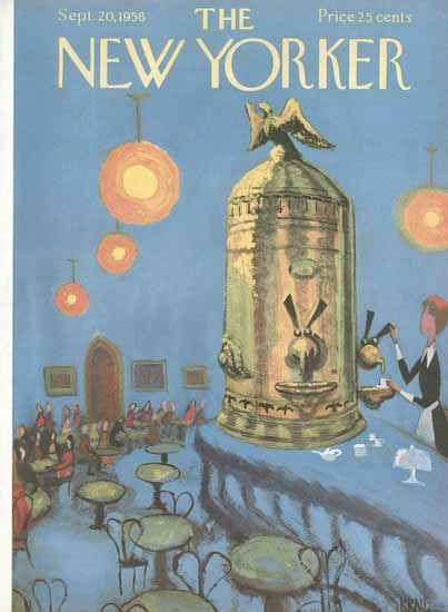 Robert Kraus The New Yorker 1958_09_20 Copyright | The New Yorker Graphic Art Covers 1946-1970