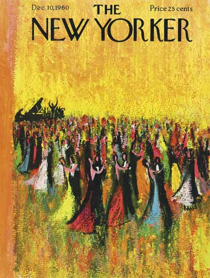 Robert Kraus The New Yorker 1960_12_10 Copyright | The New Yorker Graphic Art Covers 1946-1970