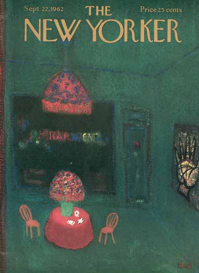 Robert Kraus The New Yorker 1962_09_22 Copyright | The New Yorker Graphic Art Covers 1946-1970