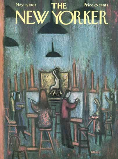 Robert Kraus The New Yorker 1963_05_18 Copyright | The New Yorker Graphic Art Covers 1946-1970