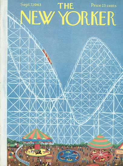 Robert Kraus The New Yorker 1963_09_07 Copyright | The New Yorker Graphic Art Covers 1946-1970