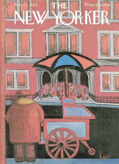 Robert Kraus The New Yorker 1964_11_21 Copyright   The New Yorker Graphic Art Covers 1946-1970