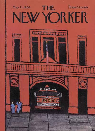 Robert Kraus The New Yorker 1966_05_21 Copyright | The New Yorker Graphic Art Covers 1946-1970