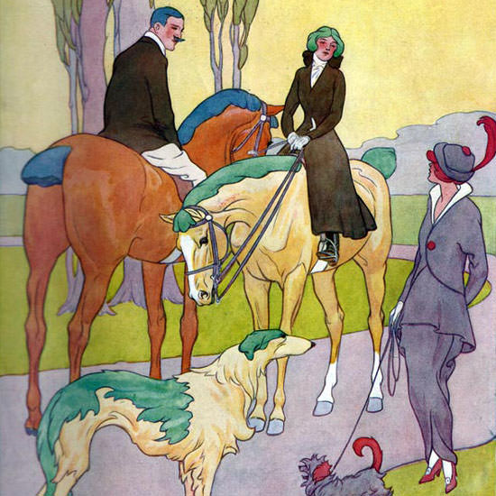 Robert L Dickey Life Humor Magazine 1914-04-23 Copyright crop | Best of 1891-1919 Ad and Cover Art