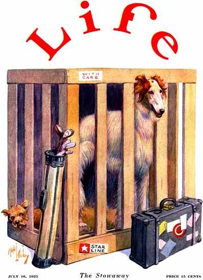 Robert L Dickey Life Humor Magazine 1925-07-16 Copyright | Life Magazine Graphic Art Covers 1891-1936