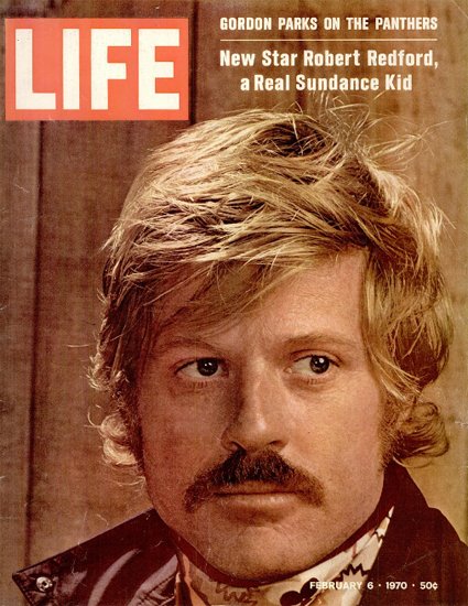 Robert Redford a Real Sundance Kid 6 Feb 1970 Copyright Life Magazine | Life Magazine Color Photo Covers 1937-1970