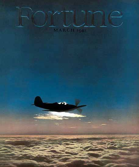 Robert Yarnall Richie Fortune Magazine March 1941 Copyright | Fortune Magazine Graphic Art Covers 1930-1959