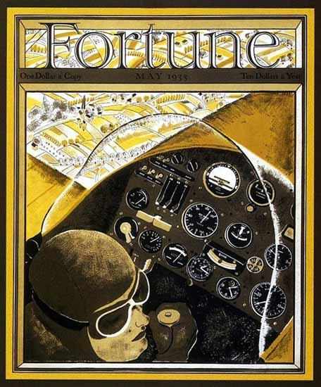 Roger Duvoisin Fortune Magazine May 1933 Copyright | Fortune Magazine Graphic Art Covers 1930-1959