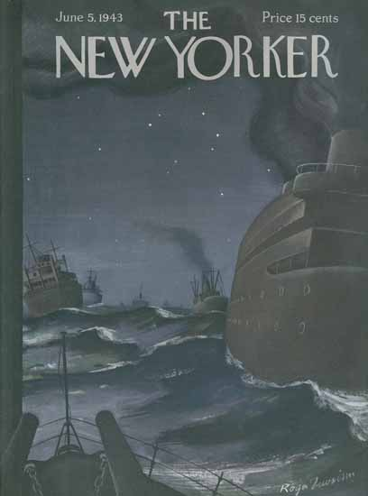 Roger Duvoisin The New Yorker 1943_06_05 Copyright | The New Yorker Graphic Art Covers 1925-1945