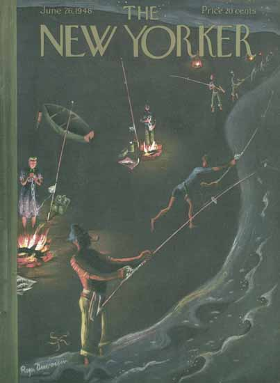Roger Duvoisin The New Yorker 1948_06_26 Copyright | The New Yorker Graphic Art Covers 1946-1970