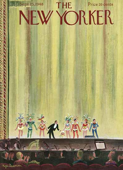 Roger Duvoisin The New Yorker 1948_09_25 Copyright | The New Yorker Graphic Art Covers 1946-1970