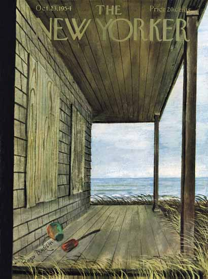 Roger Duvoisin The New Yorker 1954_10_23 Copyright | The New Yorker Graphic Art Covers 1946-1970