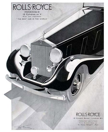 Rolls-Royce Phantom III 1935 | Vintage Cars 1891-1970