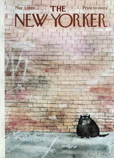 Ronald Searle The New Yorker 1969_05_03 Copyright | The New Yorker Graphic Art Covers 1946-1970