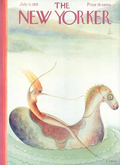 Rose Silver The New Yorker 1931_07_11 Copyright   The New Yorker Graphic Art Covers 1925-1945