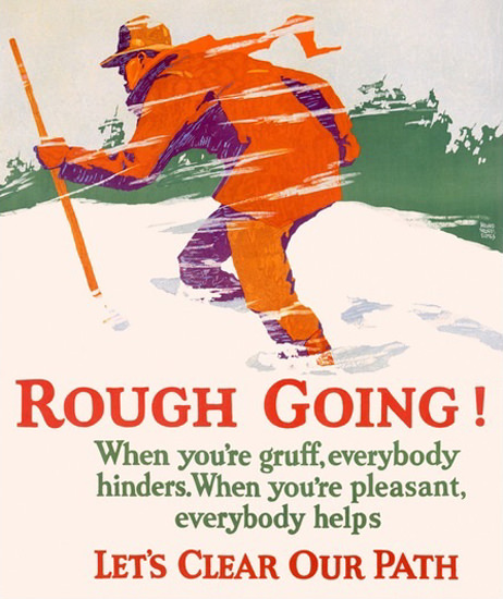 Rough Going | Vintage Ad and Cover Art 1891-1970