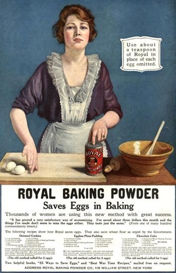 Royal Baking Powder New York | Vintage Ad and Cover Art 1891-1970