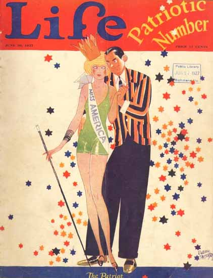 Russell Patterson Life Humor Magazine 1927-06-30 Copyright | Life Magazine Graphic Art Covers 1891-1936