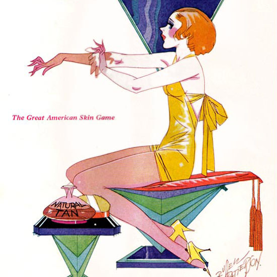Russell Patterson Life Humor Magazine 1929-08-09 Copyright crop | Best of 1920s Ad and Cover Art