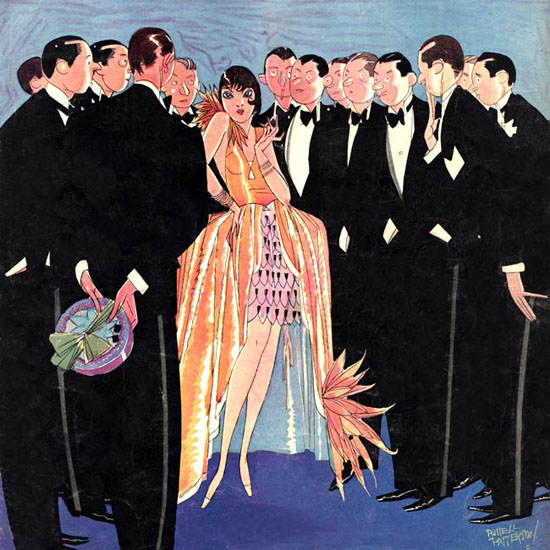 Russell Patterson Life Magazine Charmer 1927-06-09 Copyright crop | Best of Vintage Cover Art 1900-1970