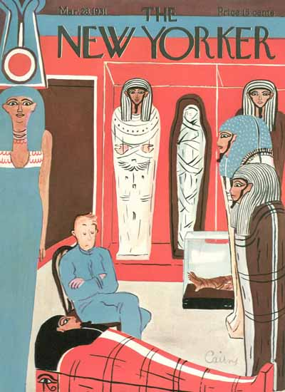 Ruth Cairns The New Yorker 1931_03_28 Copyright | The New Yorker Graphic Art Covers 1925-1945