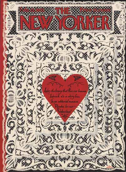 S Liam Dunne The New Yorker 1932_02_13 Copyright   The New Yorker Graphic Art Covers 1925-1945